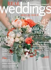 Real Weddings Martha Stewart SPECIAL ISSUE